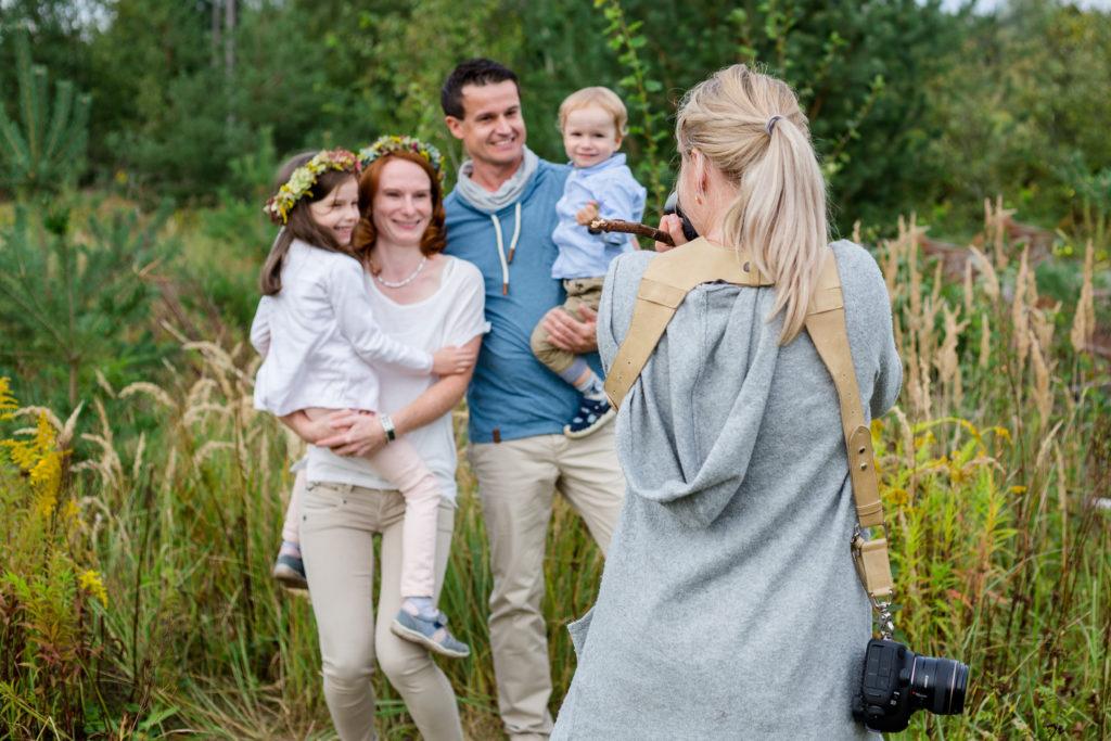 Familienfotografin werden